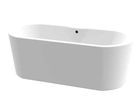 PRAGUE ONE PIECE FREE STANDING BATH 1900*900 (WHITE)