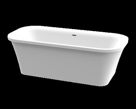 BONN ONE PIECE FREE STANDING BATH (WHITE)