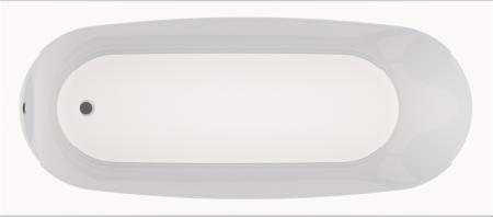 (D) BM11H ARUBA 1700 BATH WHT (WITH HANDLES)