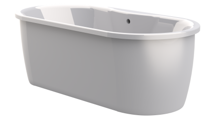 BMF28 EDINBURGH SKIRTED BATH WHT