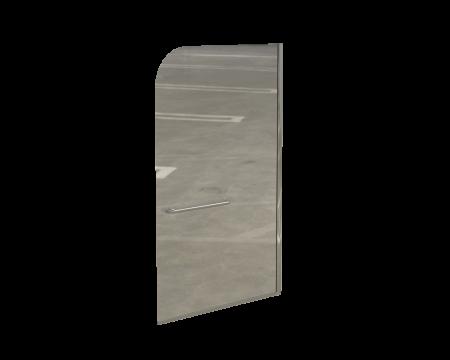FINESTRA FIXED BATH SCREEN 900*1400*8MM SIL/CLR
